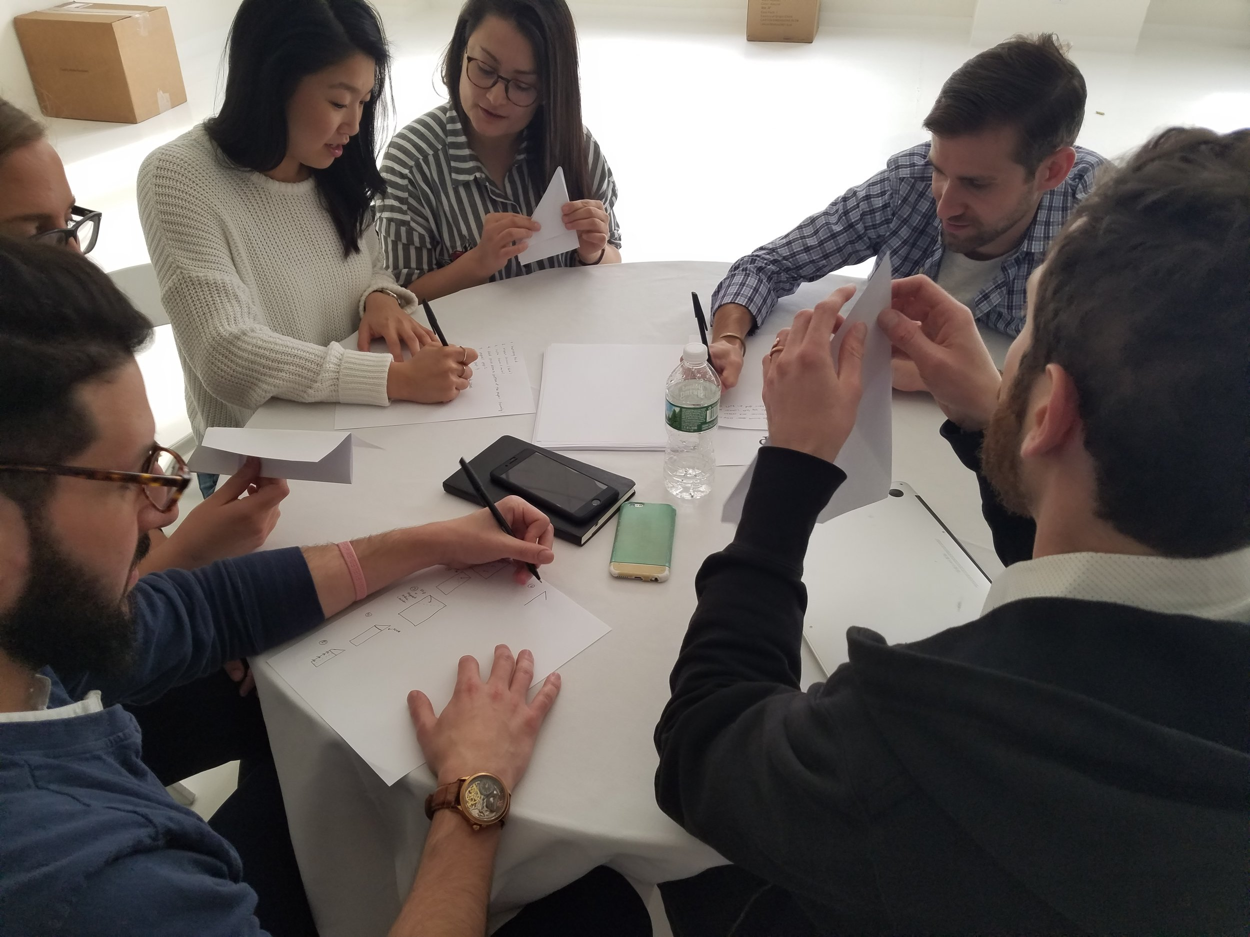 A communications style workshop using Origami