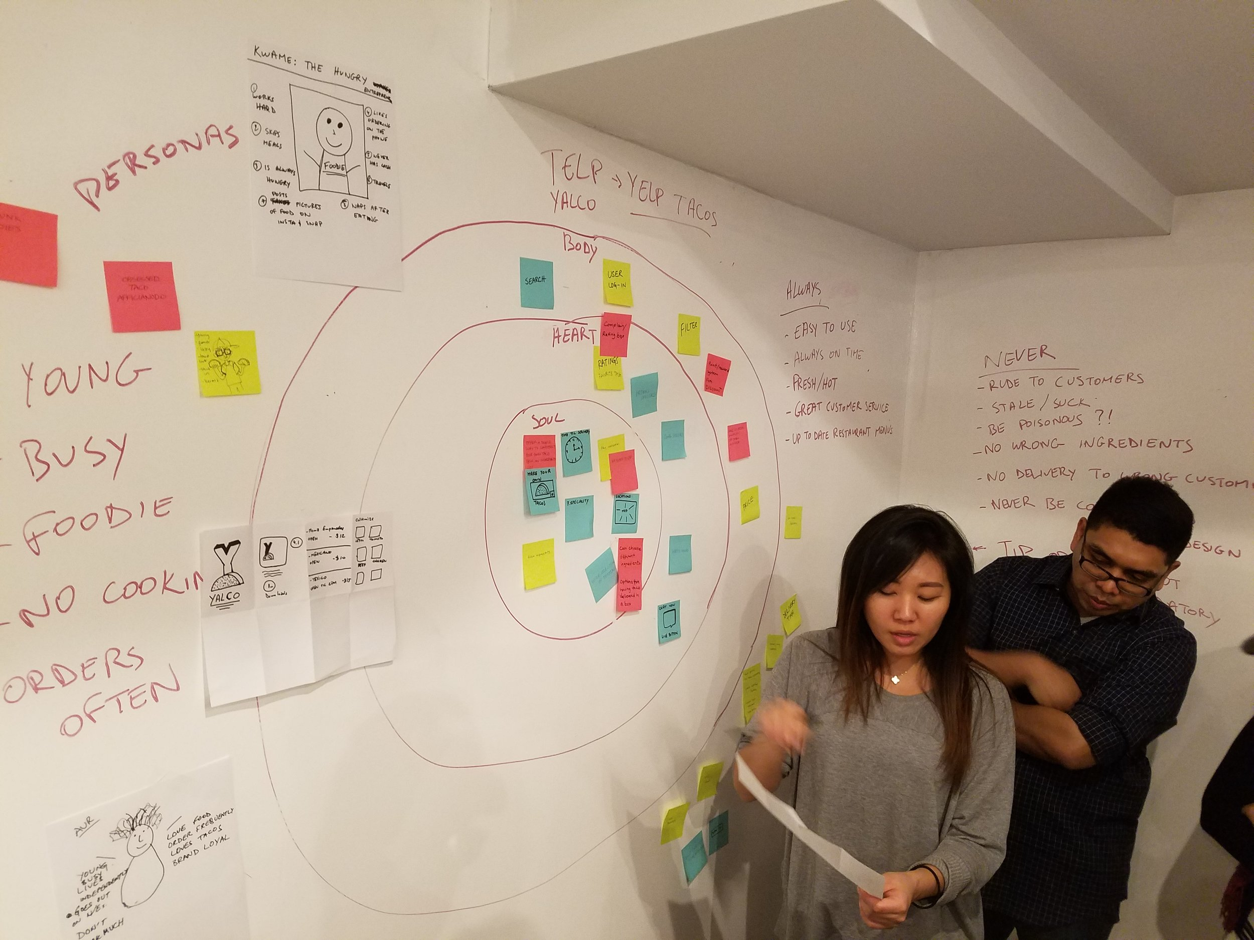 Designing a UX conversation for General Assemby