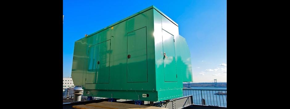 Roof top generator