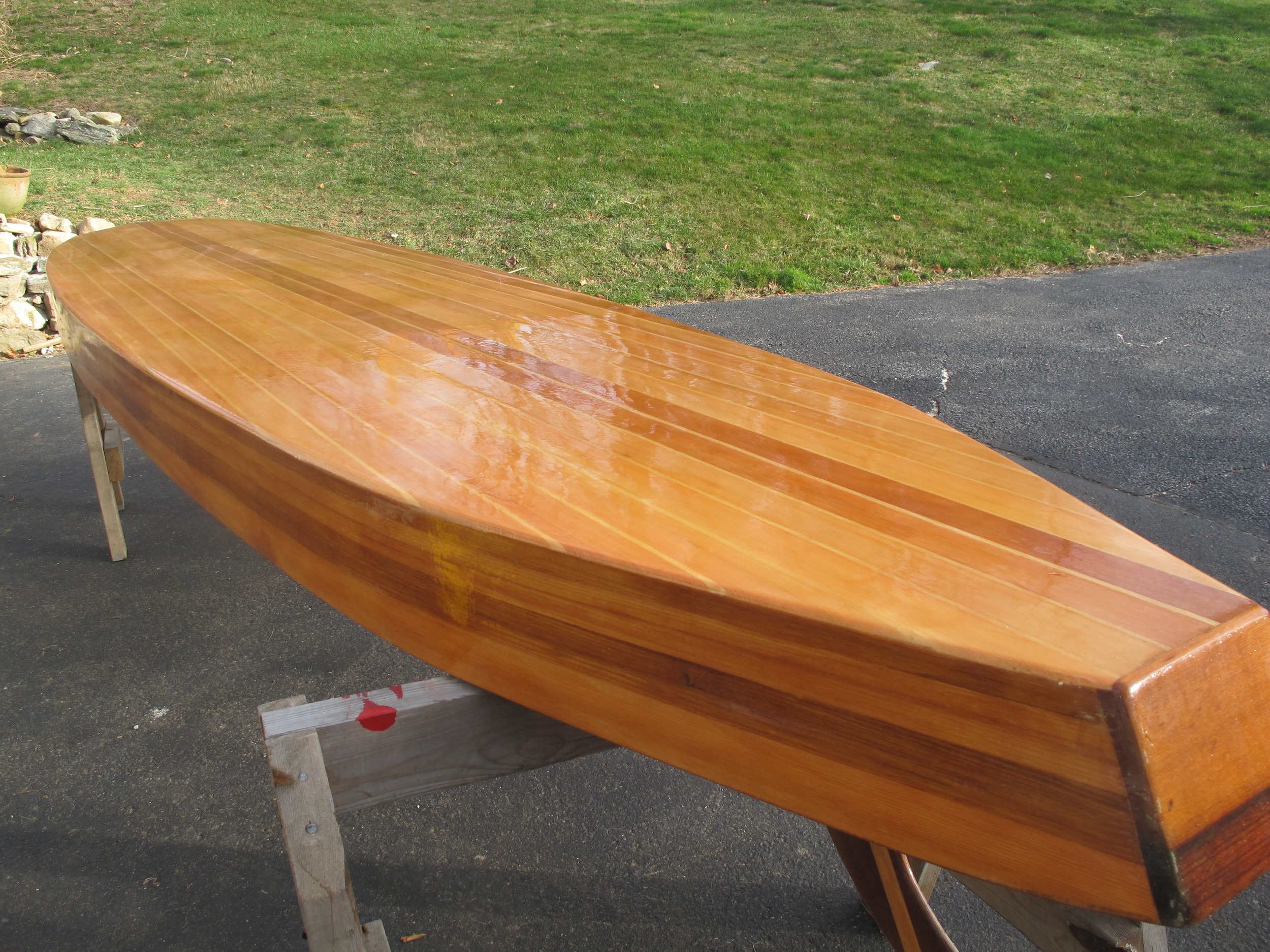 Cedar and Sugar Pine Paddleboard, 12 Feet, 36 Pounds