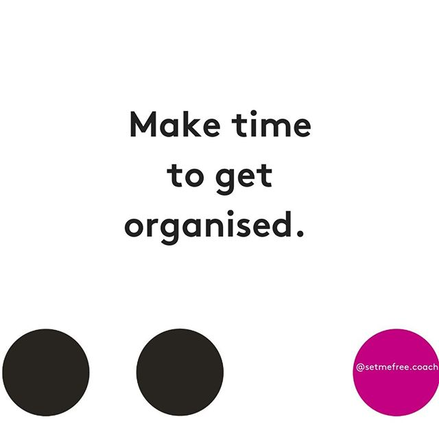 Being organised is part of a relaxed, fulfilling life. ⠀ ⠀ You can't have a great work-life without having some sense of control and that comes from a bit of preparation and organisation.⠀ ⠀ What would make life easier if it was more organised (or organised at all)?⠀ ⠀ Schedule some time in to slowly get your work-life organised.⠀ ⠀ Small steps, regularly!⠀ ⠀ It's time to love your work!⠀ ⠀ Big love,⠀ Lara xx