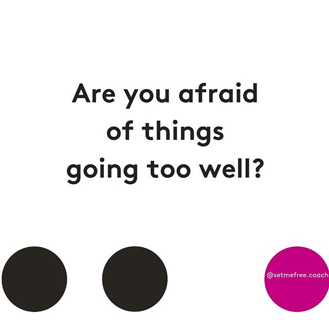 Fear of things going well (success) can be just as paralysing as fear of failure.⠀ ⠀⠀ This is when our frenemy, self-sabotage, comes to visit.⠀ ⠀ ⠀⠀ Acts of self-sabotage can be large or small. Like landing your dream job and going home and picking a fight with your partner. Getting that amazing client and then procrastinating with their report. Not negotiating for that raise or not checking your flights before a big trip to pitch an amazing deal. ⠀ ⠀⠀ So what lies behind self-sabotage?⠀ ⠀⠀ The Upper Limit Problem.⠀⠀ ⠀⠀ Gay Hendricks coined the term 'Upper Limit Problem'. He writes 'each of us has an inner thermostat setting that determines how much love, success and creativity we allow ourselves to enjoy'. When we hit that upper limit, we self-sabotage to bring us back down to a level we are comfortable with.⠀ ⠀⠀ It sounds crazy, but we are often more comfortable with the status quo than something better, especially something amazing.⠀ ⠀⠀ The upper limit is said to be set in early childhood, based on the values and beliefs of our families and communities.⠀⠀ ⠀⠀ Think about the insidious beliefs about what women can and should do at work and in the world and add to that what was considered good or normal in your family life. ⠀⠀ ⠀⠀ So what to do?⠀⠀ ⠀⠀ First off, calm your body and get out of fight, flight or freeze mode. Take 10 deep belly breaths to clear your head and get your hormones humming a happier tune.⠀⠀ ⠀⠀ Then be in your body. Feel your feet on the floor, bum on the seat. Try to notice one thing you can see, touch, taste, feel and smell. Notice how your body is responding to the great thing that has happened or the thought of it happening. ⠀⠀ ⠀⠀ Next, get curious and engage with what's going on. Write down your thoughts. In so many ways, our thoughts create our actions. ⠀ ⠀ What are you thinking about success at work?⠀ ⠀ Big love,⠀ Lara xx⠀ ⠀
