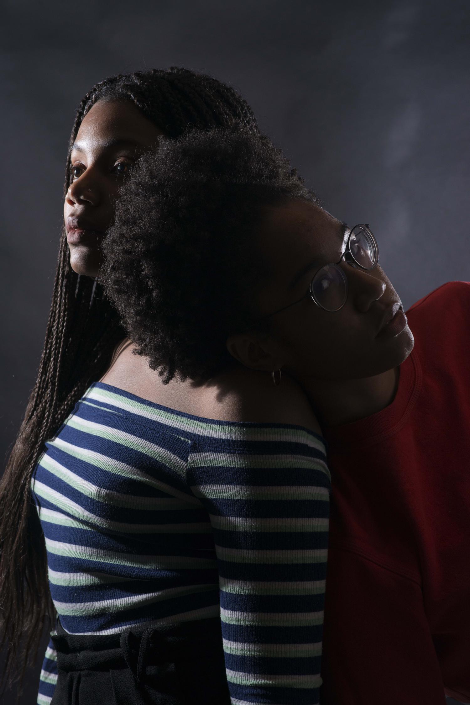Aniya and Brittany, Untitled