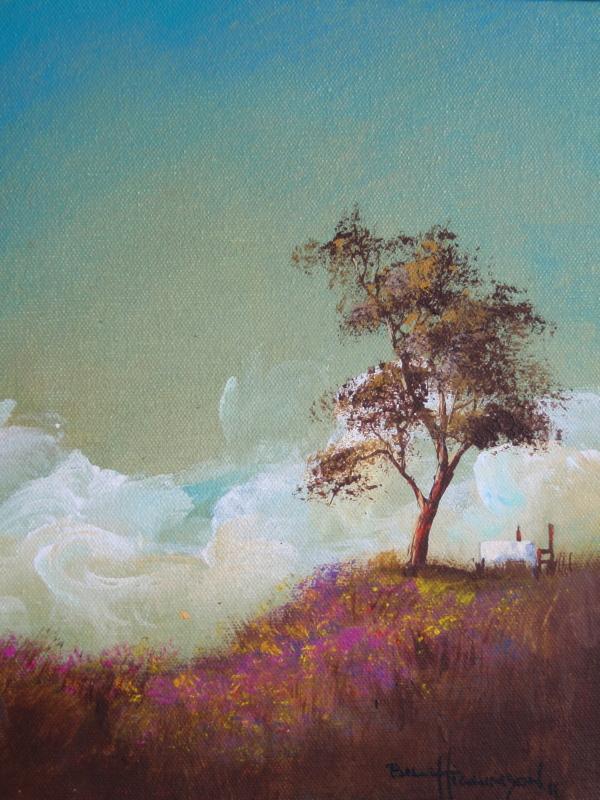 DiningOut-Happy tree series acrylic on canvas painting.jpg