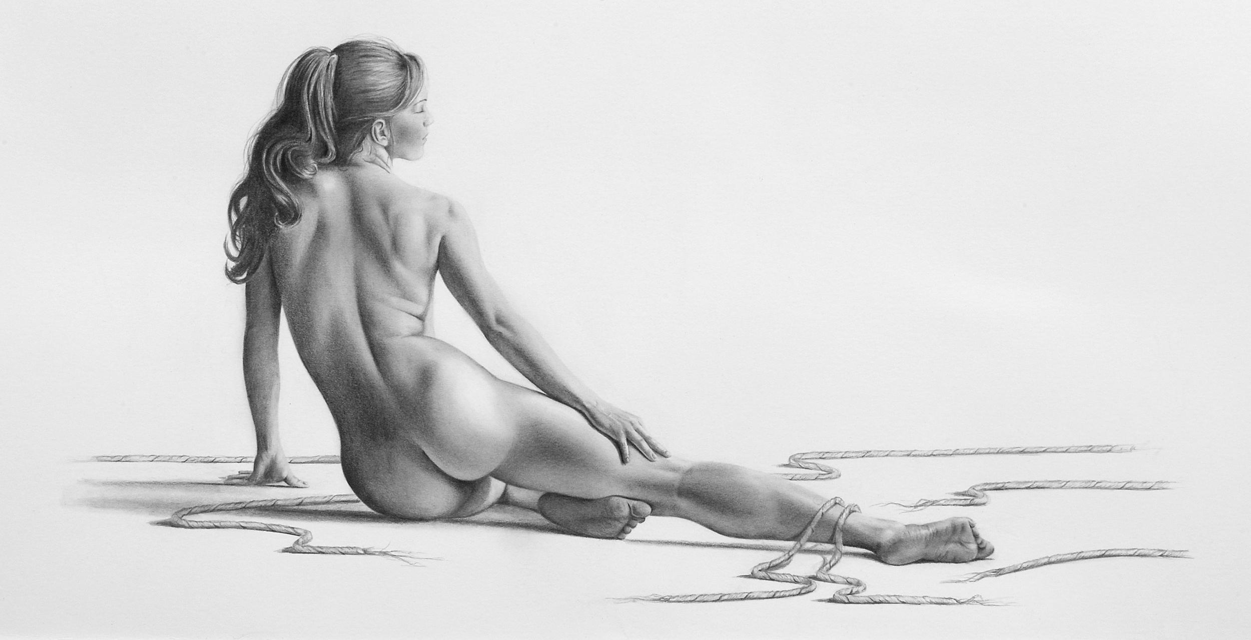 broken free-bill-higginson-artist-graphite-drawing-realism-black-and-white