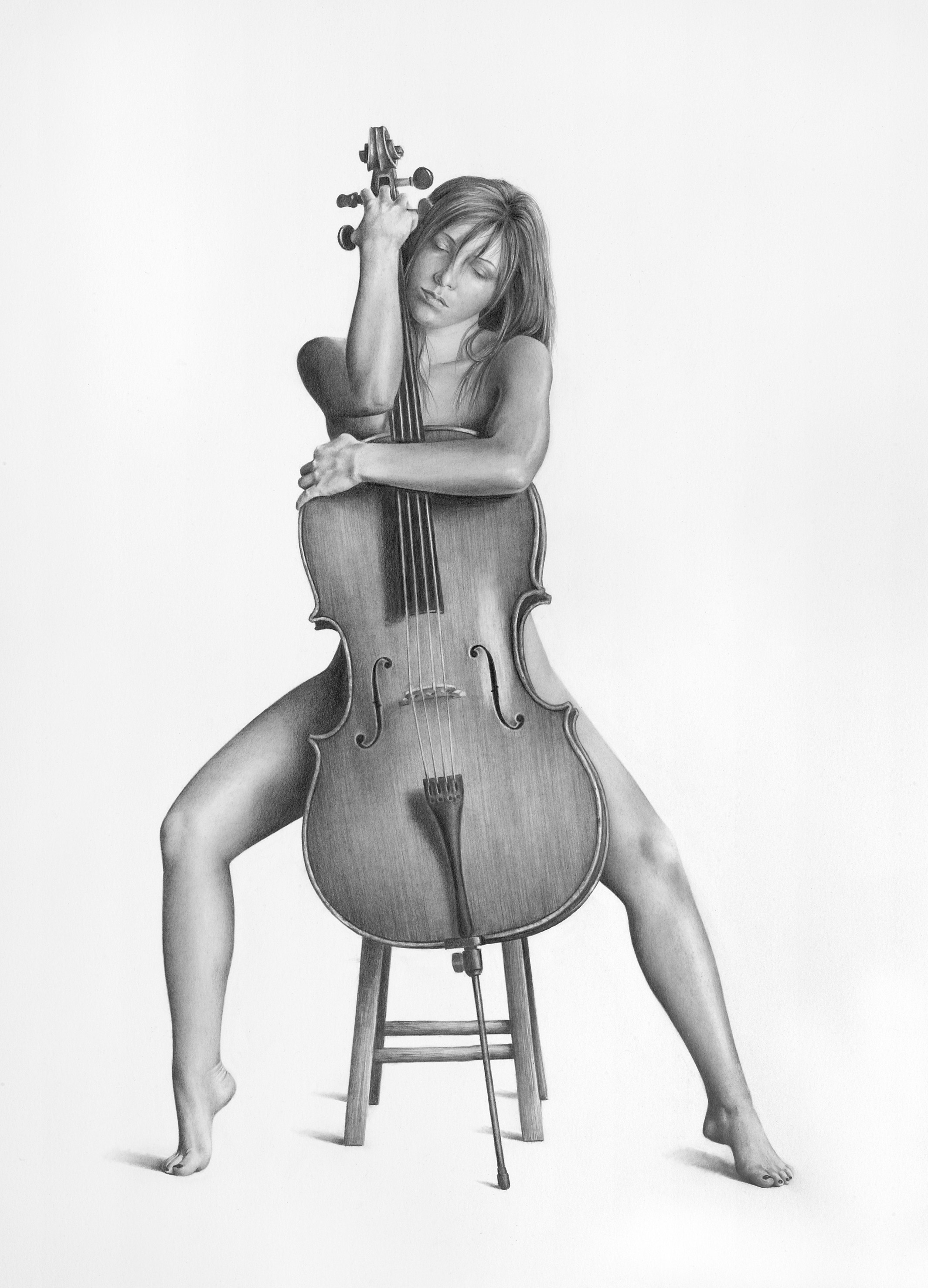 bill_higginson-the love of artbill-higginson-artist-graphite-drawing-realism-black-and-white