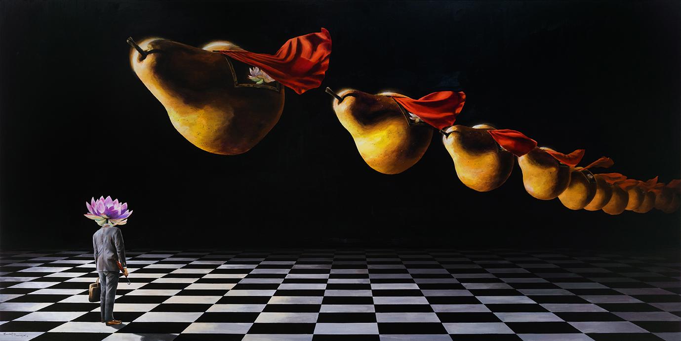 w1 - lucid dreaming - William D. Higginson - surrealism art.jpg