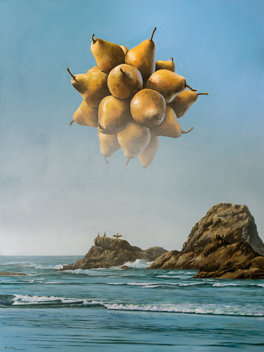 w1 - Solar Pear 2 - William D. Higginson - surrealism art.jpg
