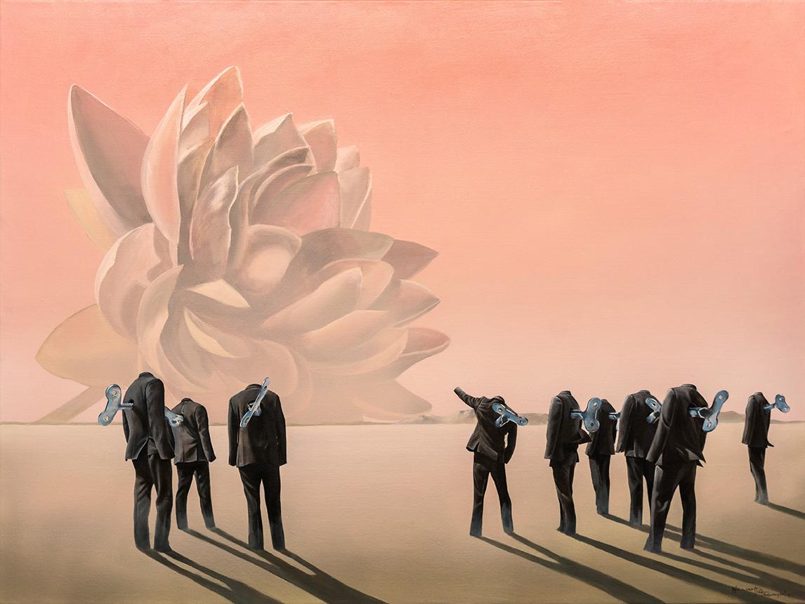 w1 - Let my people grow - William D. Higginson - surrealism art.jpg