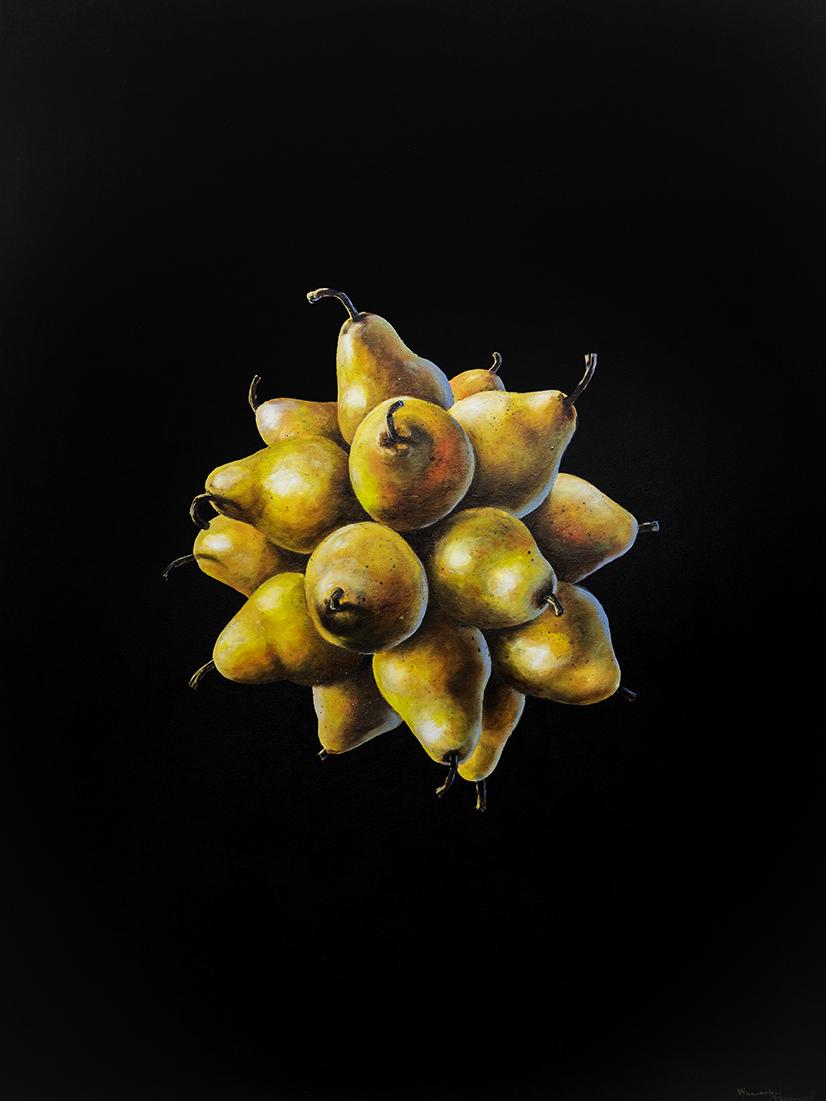 w1 - black sphere - William D. Higginson - surrealism art.jpg