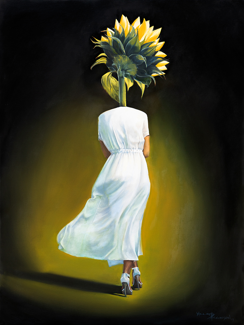 Sunflower I by William D Higginson