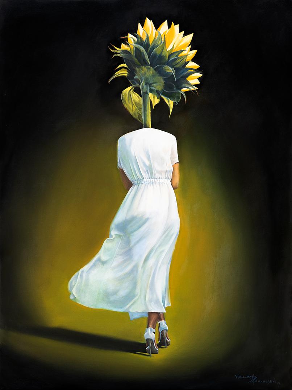 Sunflower I by William D Higginson