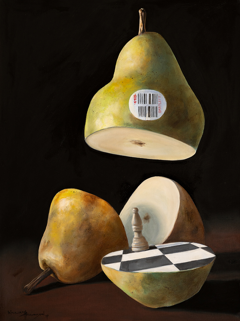 Pyriforma incubandi episcopus surrealism oil painting william d higginson.jpg