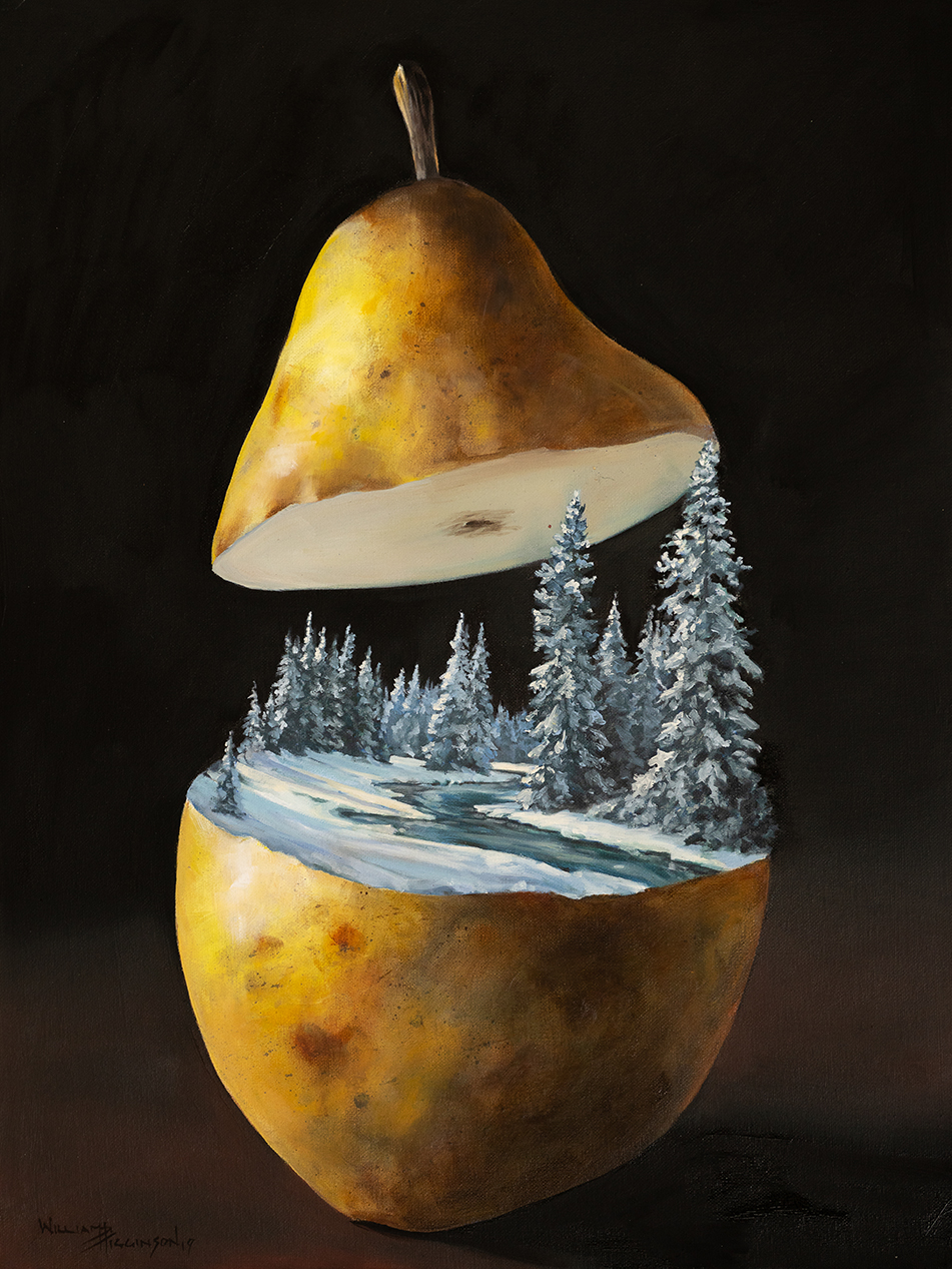 Pyriforma incubandi hibernus fluvius surrealism oil painting william d higginson.jpg