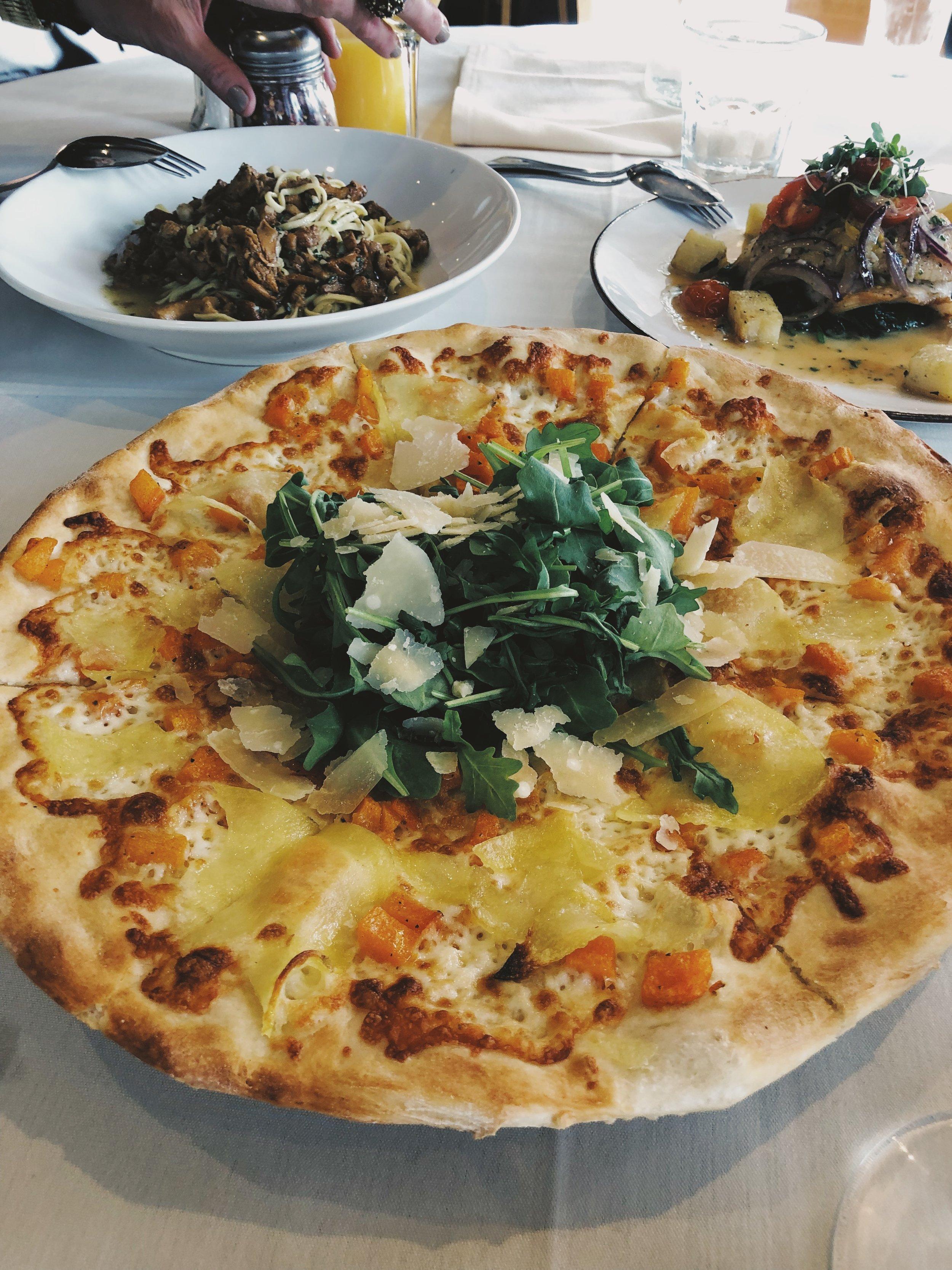 Even pizza - yum!