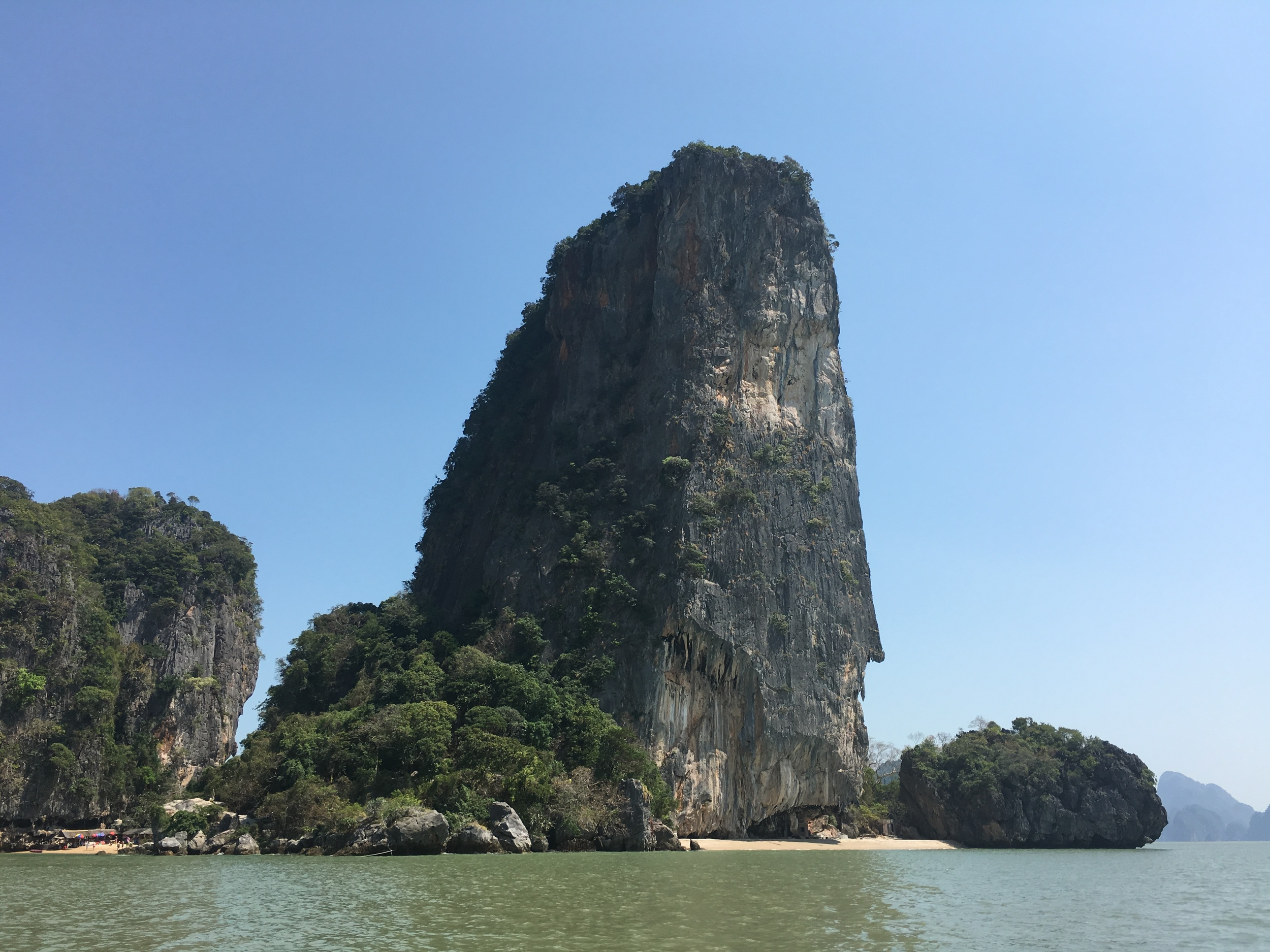 One of the natural beauties of James Bond Island.