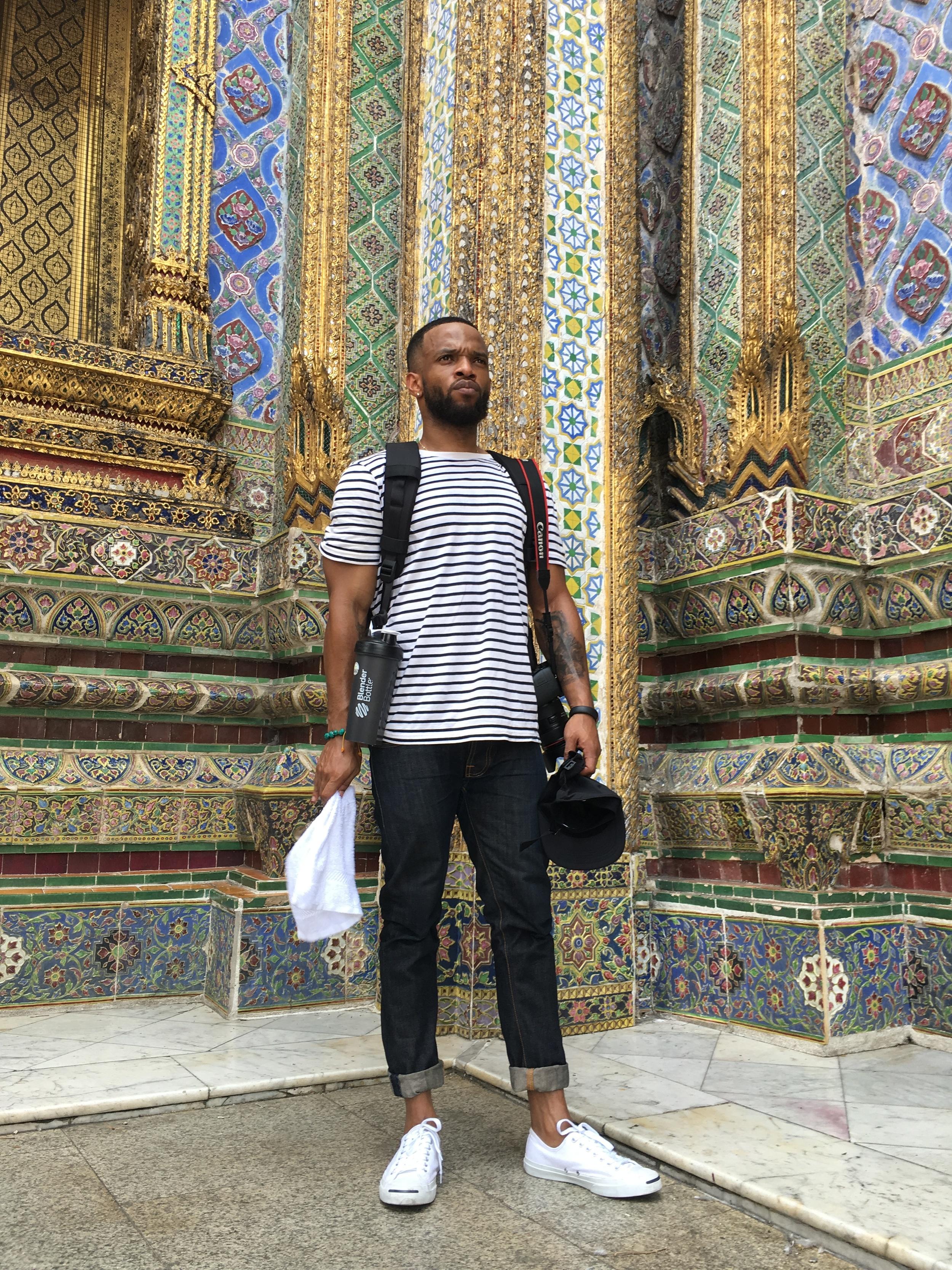 At the Grand Palace.