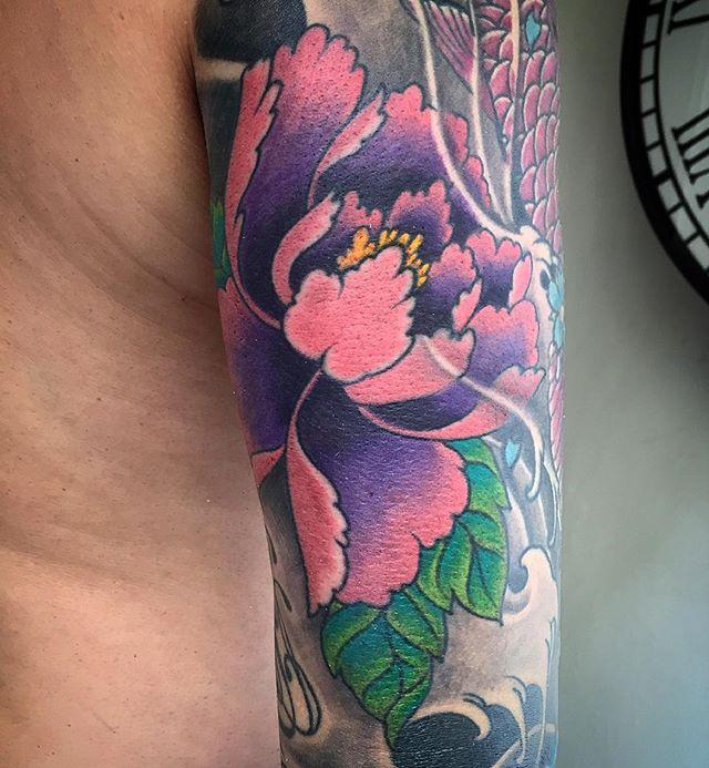3/4 Japanese sleeve in progress. The blue cherry blossom n maroon koi not by me but doing a join up n rework.  Pls follow me on Instagram if u like my work. instagram.com/joseph_visual_orgasm 🙏 #VisualOrgasmTattoo #tattoo #tattoomagazine #blackandgrey #freehandtattoo #singaporeartist #customtattoo #ink #inked #eikon #tattooartistmagazine #singaporetattoo #colourtattoo #tattoolife #peony #sullen #japanesetattoo #skinartmag #supportgoodtattooing #tattooart #support_good_tattooing #inkedmag #ionneedles #crazyytattoos #tattoodesign #mindblowingtattoos #inkcoholics #savepaperinkmetattoo #tattoorevuemag