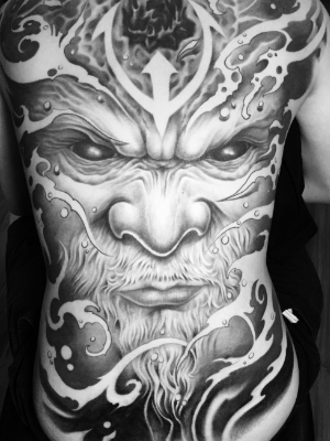 Work of Art by one of the best tattoo artists in Singapore.