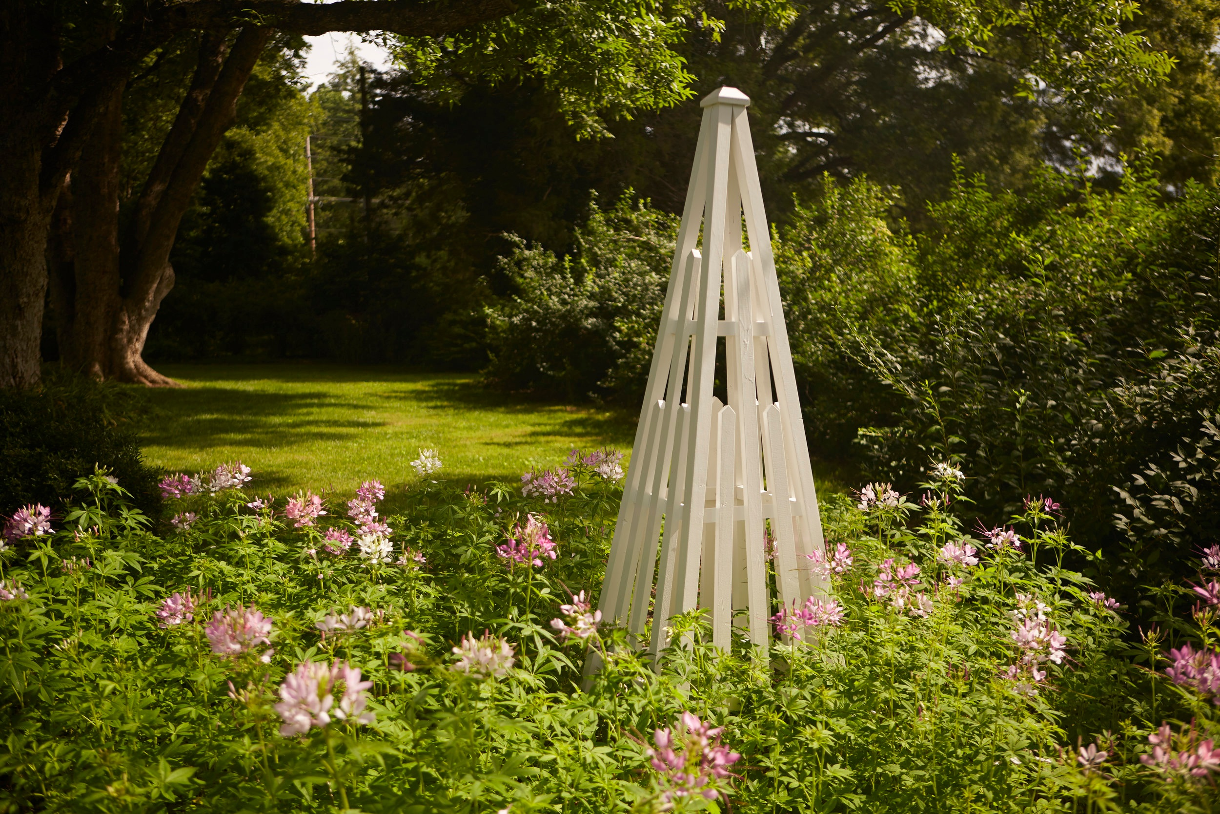 Garden Obelisk - Available in 5', 6', and 7' heights. Contact info@eastovercollection for pricing.