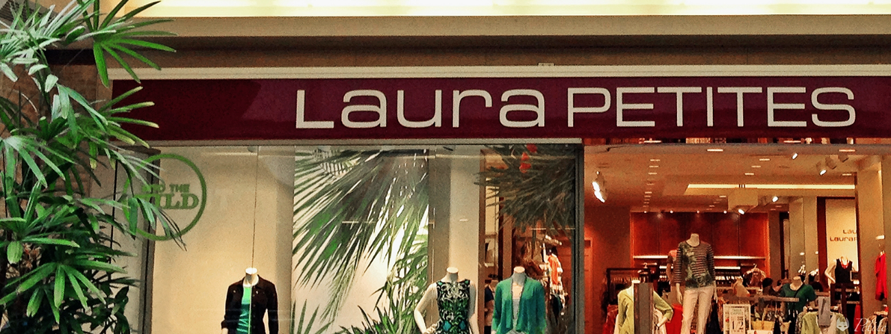 Laura Petites Summer 2016 Store Front