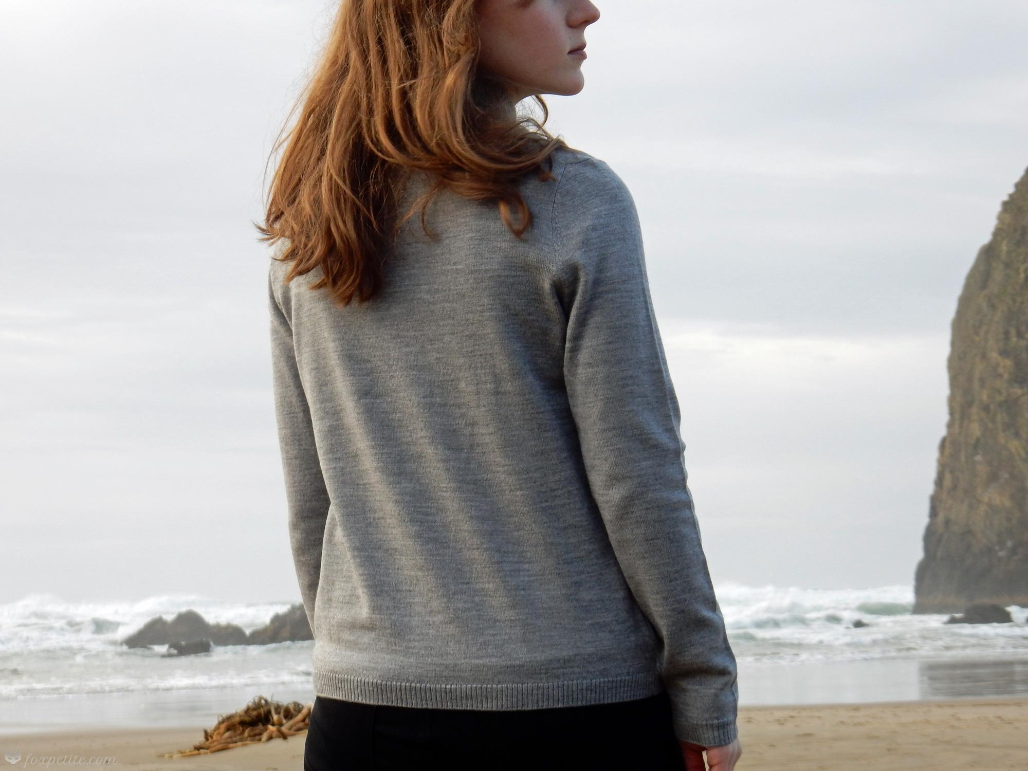 Pendleton Merino Wool Sweater   Fox Petite