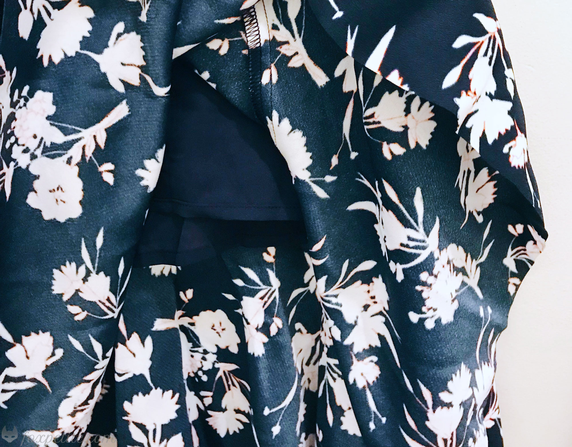 Floral Drop-Waist Shift Dress  in 00 Petite