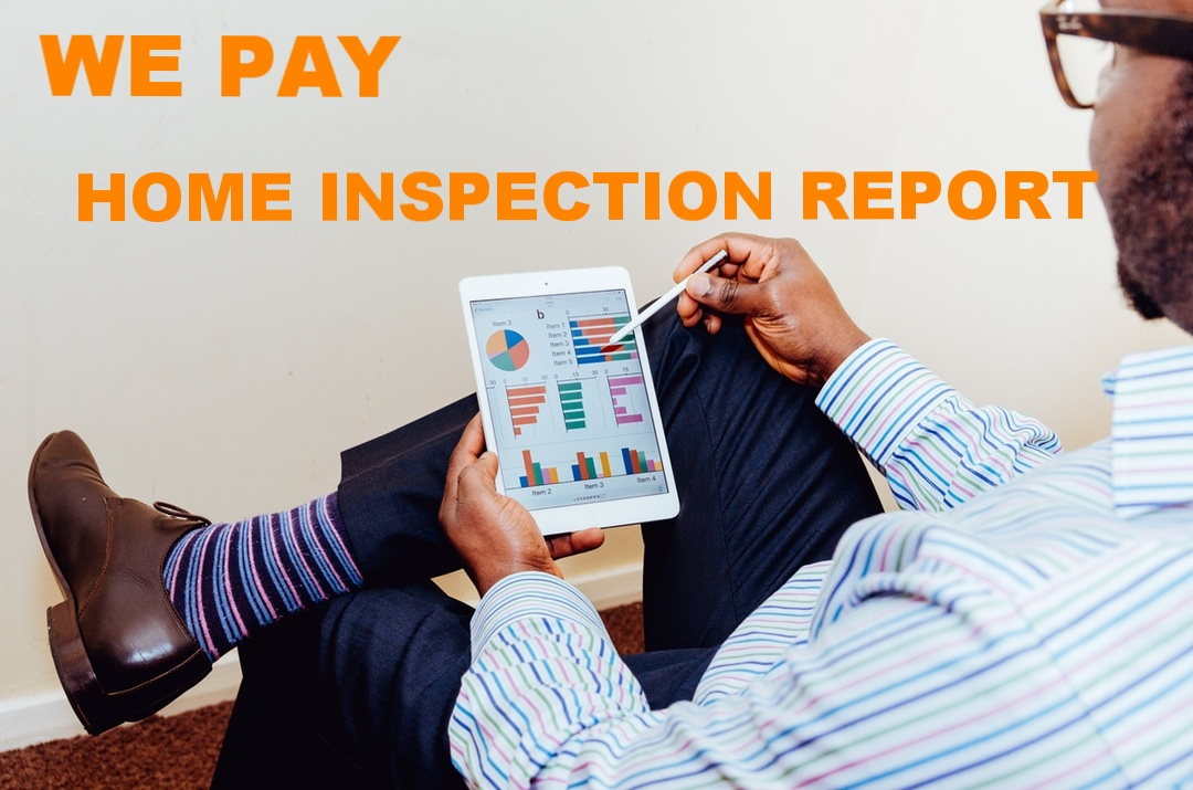FOR AVOIDING CONTINGENCY - Olaie can pay a licensed inspector for a home inspection report at no cost to the seller. The home inspection report will encourage many more buyers to make offers that waive inspection contingencies.