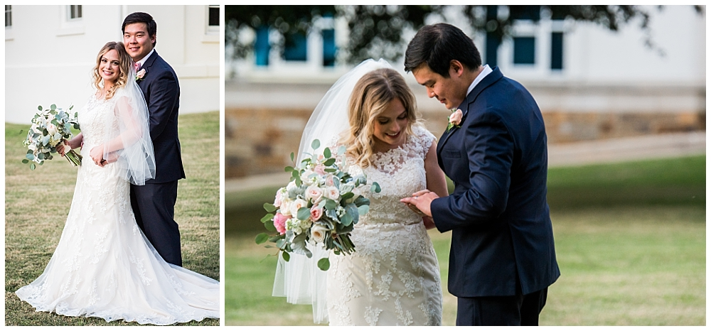 Little Rock, Arkansas Old State House Museum Wedding Photos - Light & Airy Photography