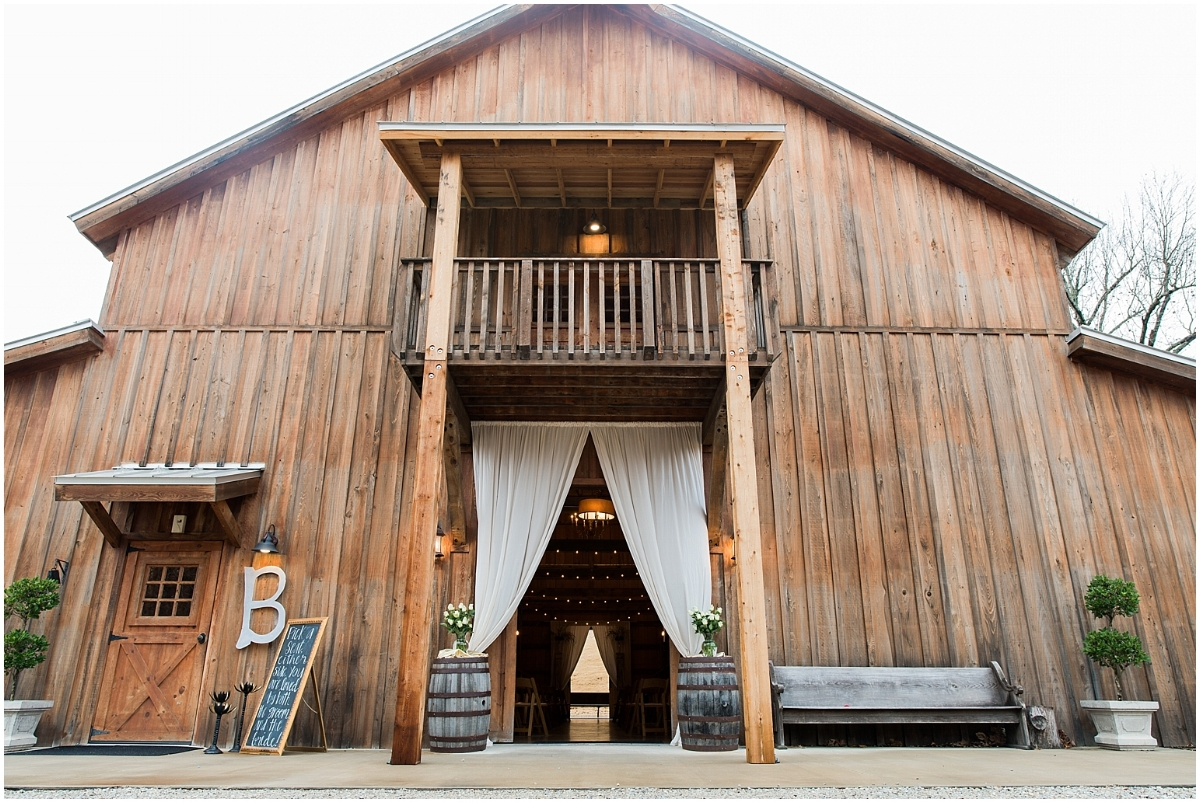 The Silos Wedding Barn in Bono, AR by Natalie Smith Photography