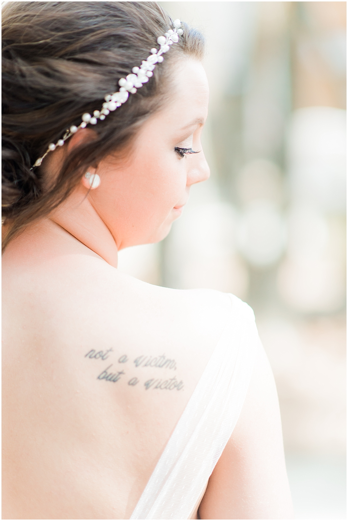 Bride with Tattoos
