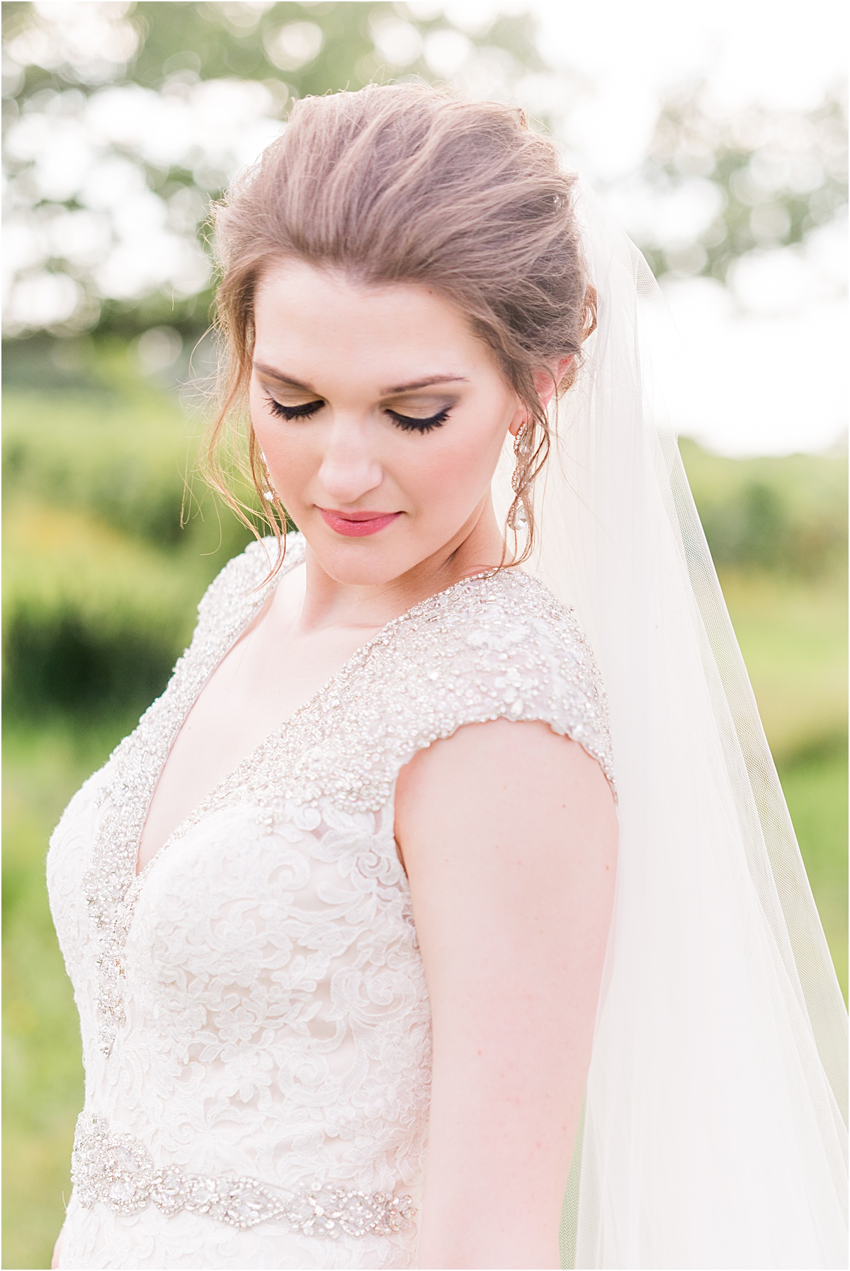 Light and airy wedding photographer