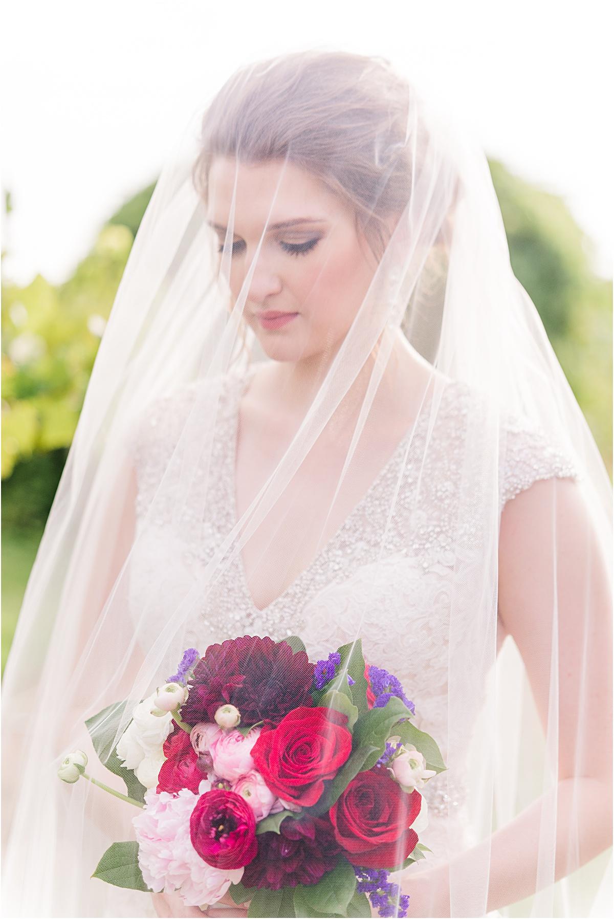 Arkansas bride veil