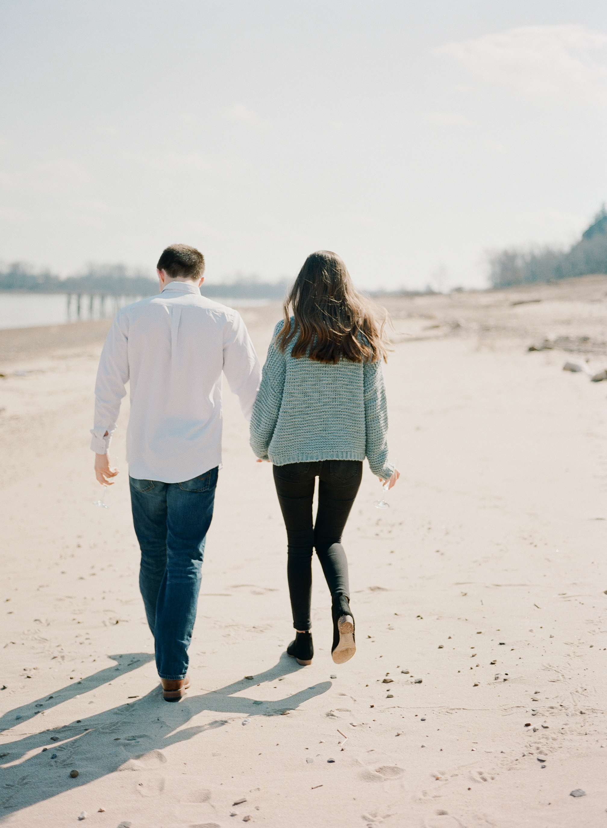 Beach Engagement Session | Arkansas River | Dardanelle, Arkansas