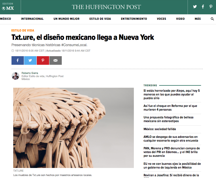 The Huffington Post Mexico, 2016