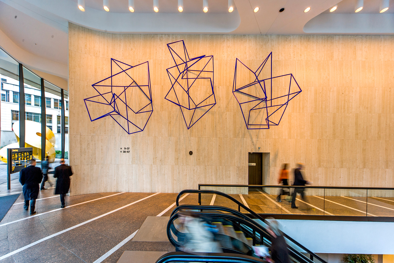 New Constellation,  2008-2009 Painted steel Collection MLC Centre, Sydney Architects: Harry Seidler & Associates Photography: John Marmaras