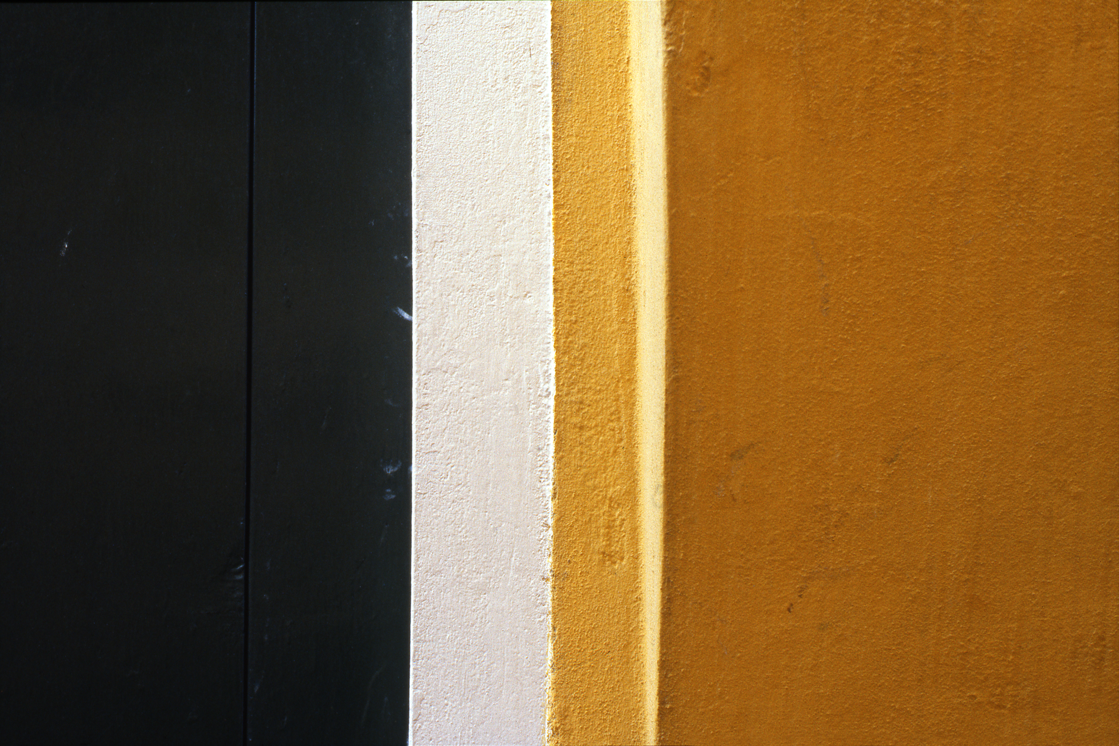 Yellow Wall and Green Shutter, Burano Italy, 1978 ,Cibachrome Print, 16 x 24cm, Edition of 10.              Exhibition:  Burano Colour Works ,Australian Centre for Photography, Sydney; Solander Gallery, Canberra; Wagga Wagga City Art Gallery,Wagga Wagga, 1979.