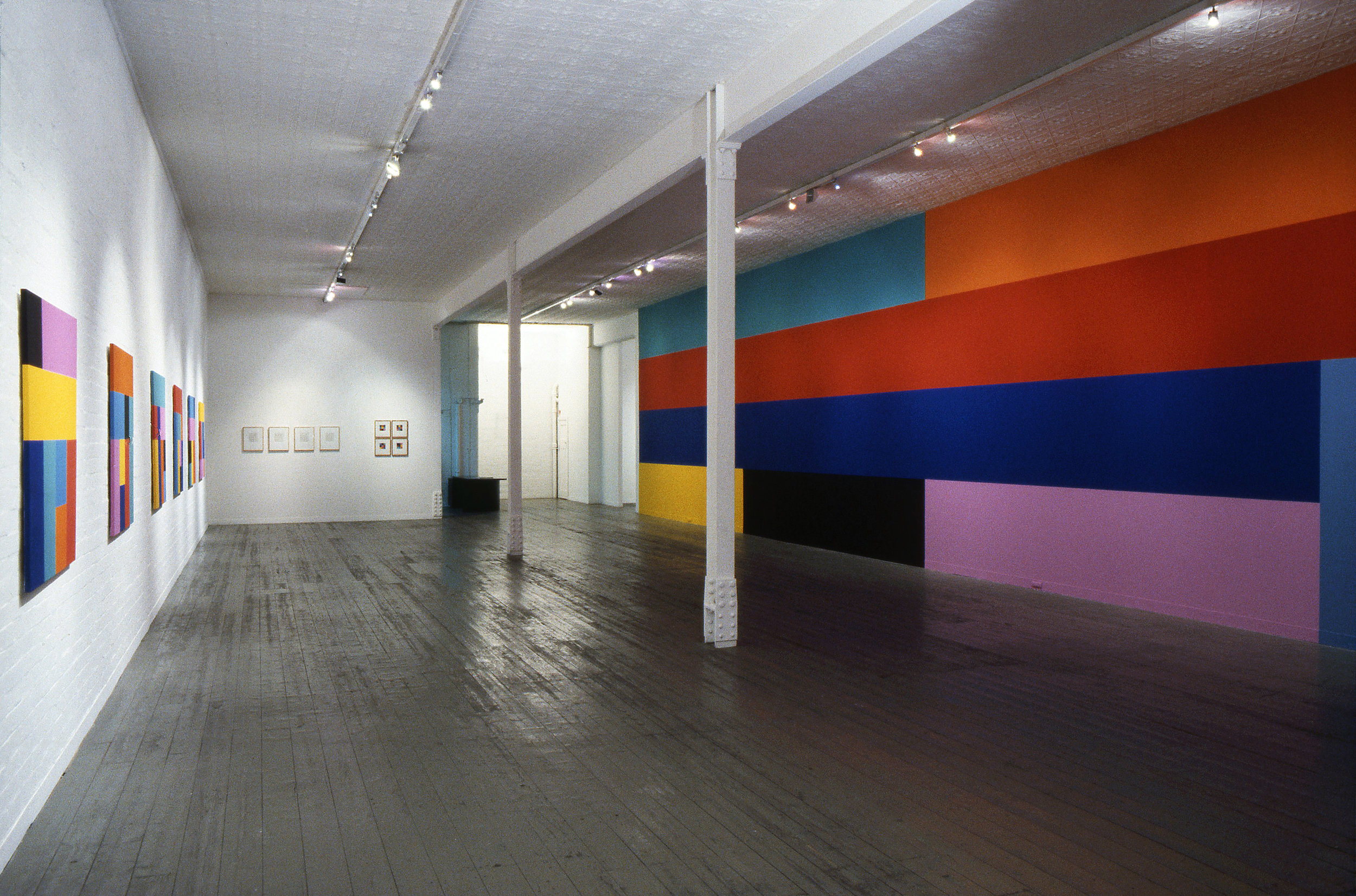Sunrise, 1993, Installation View, City Gallery, Melbourne.