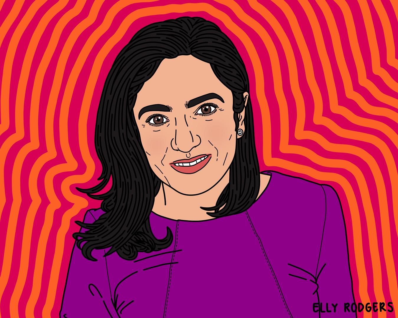 Rosina Samadani, President & CEO of Oculogica