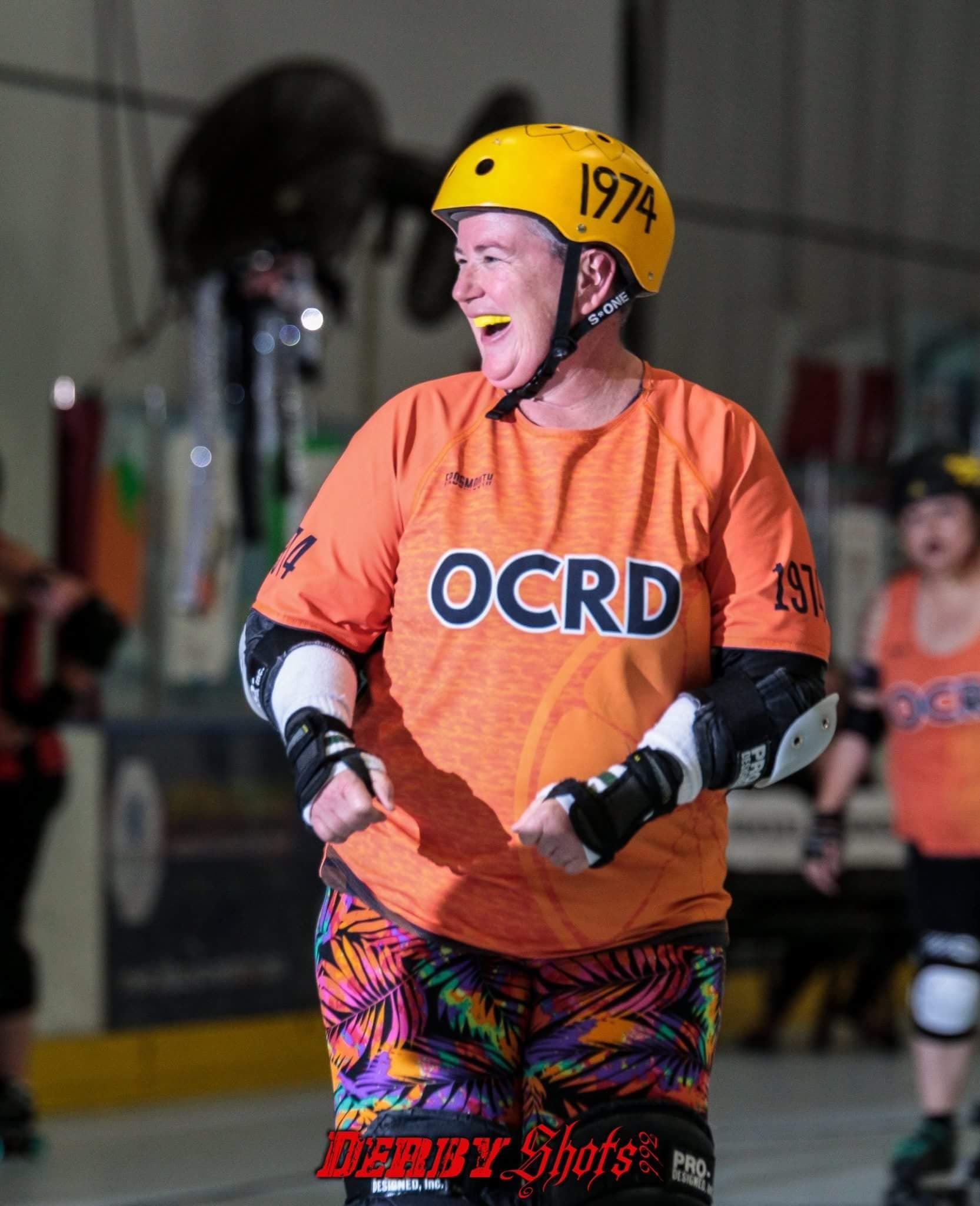 American Dad Steve Roller Derby squeeze of the month — orange county roller derby
