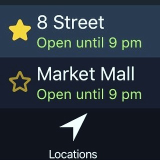 Our Market Mall app is up! Shop, order and pick up lunch or dinner at your convenience.