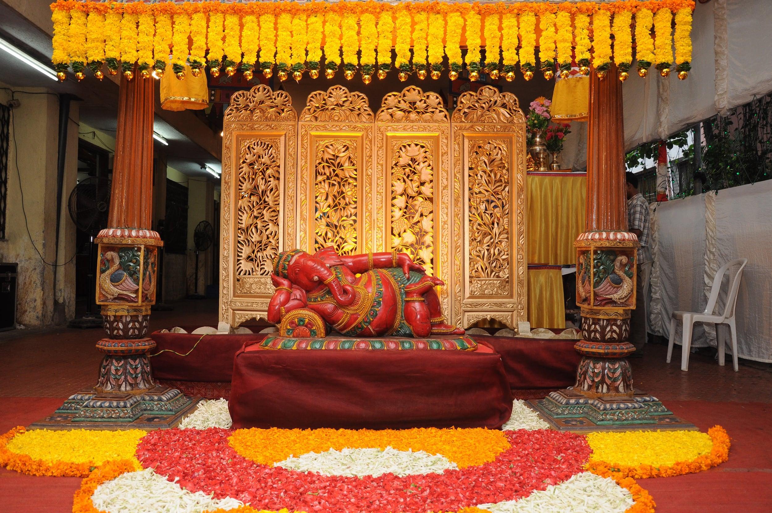 June 3 deco entry reclining Ganapati.jpg