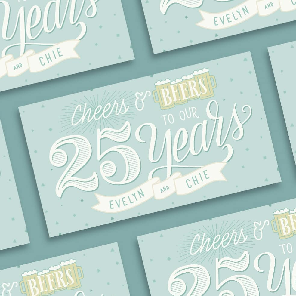 Cheers & Beers - Invitation Design