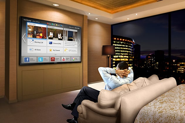 Samsung Smart Hotel Room