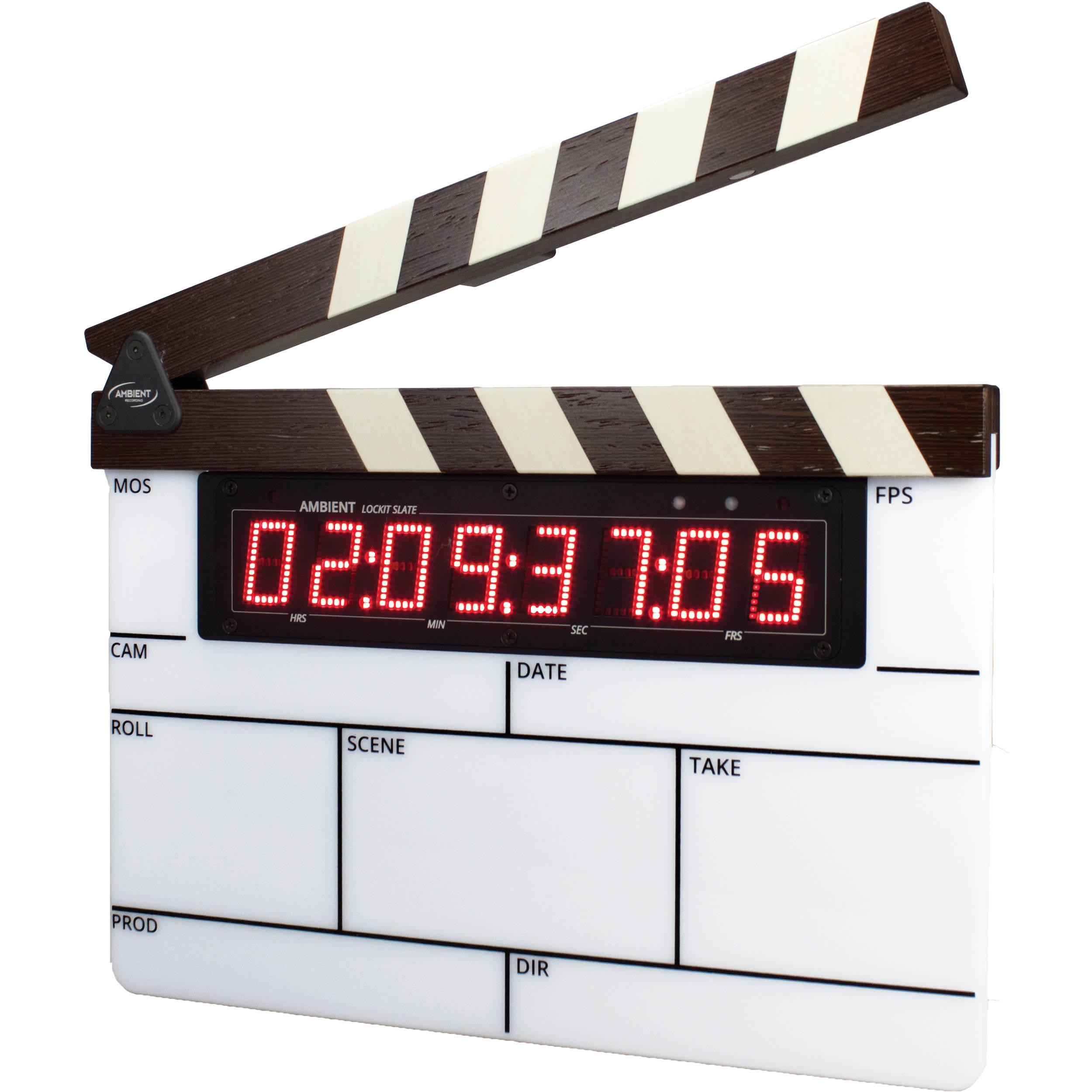 Timecode Sync Slate