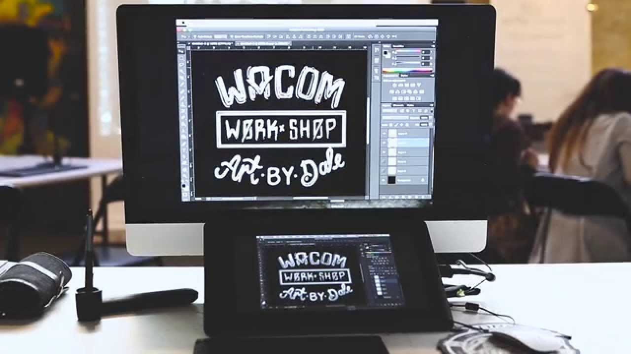 Check out the vid - collaboration with Workshop, Wacom and Art by Dale