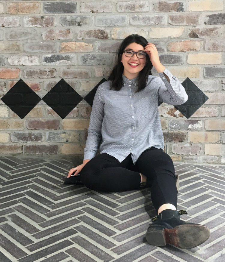 Curator  Natalie Robinson  is passionate about using art to raise awareness about mental health. With a background in digital media, she is excited to be part of an age where mediums collide and the lines are blurred between new technology and traditional media.