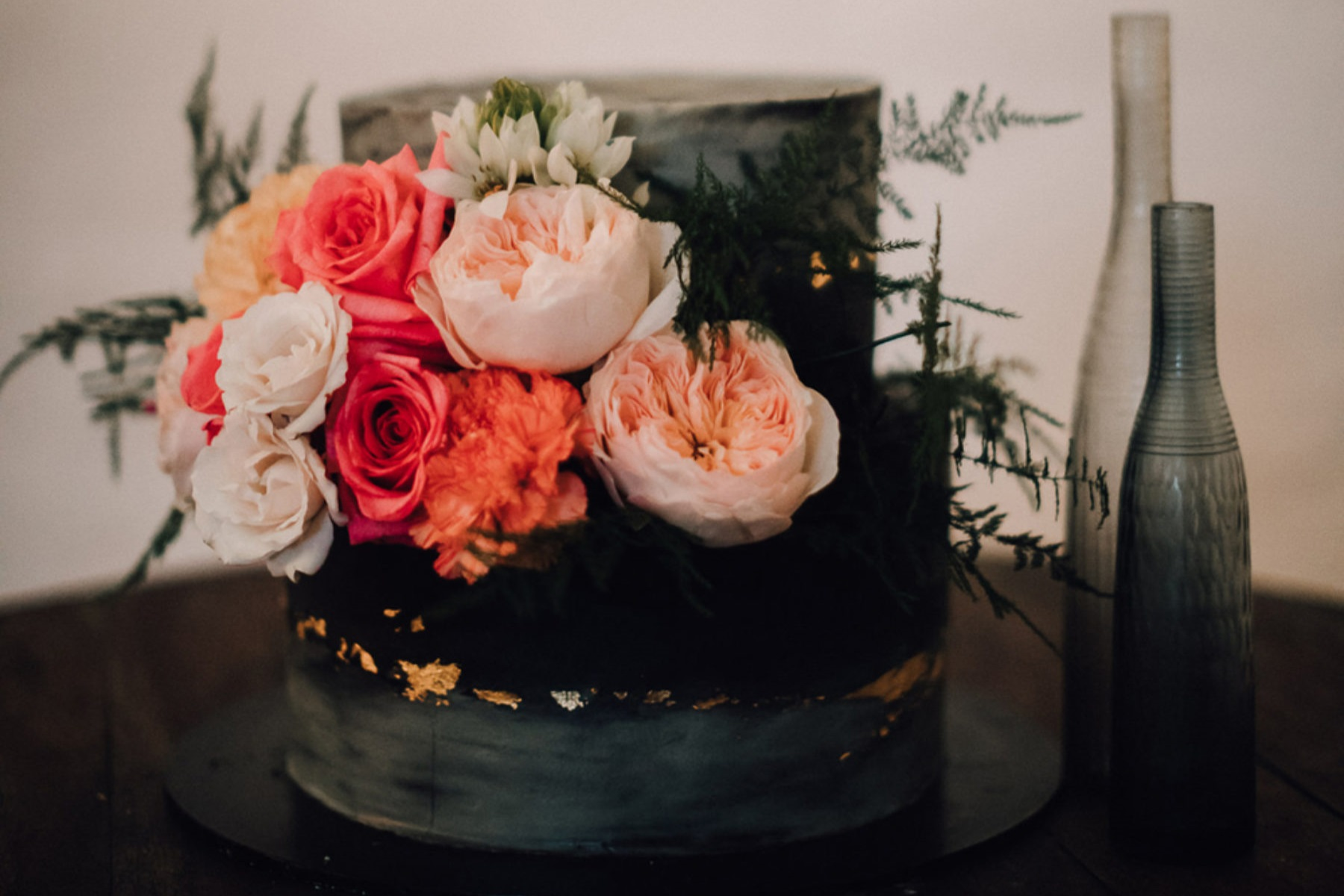 Abi & Clay's colour-filled wedding - Featured on Nouba