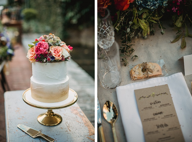 Tricia & Simon's glitter filled wedding - Featured on HelloMay