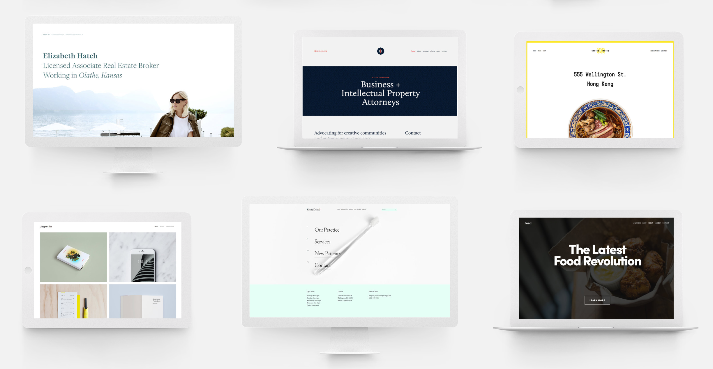 Squarespace-templates